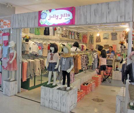 ce477098c42f4 子供服売り場はおもに5階にあり、女の子の雑貨や赤ちゃん用品のお店などが入っています。