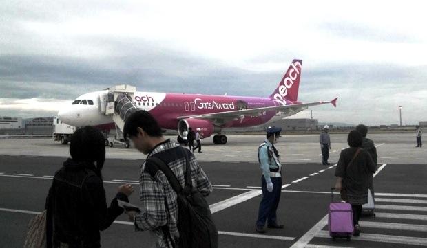 【台北】関空周辺ホテルの前泊プランや「LCC専用ターミナル」の授乳室、機内の様子まで…<ピーチ搭乗編>