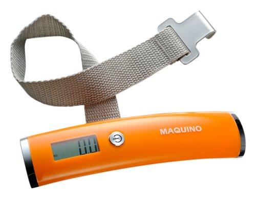 MAQUINO 【手荷物の重さを量る】 ラゲッジチェッカープラス オレンジ 071372